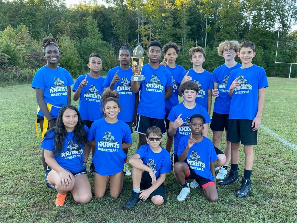 The MS Flag Football Team Wins Championship in Nail-Biter Over Berean